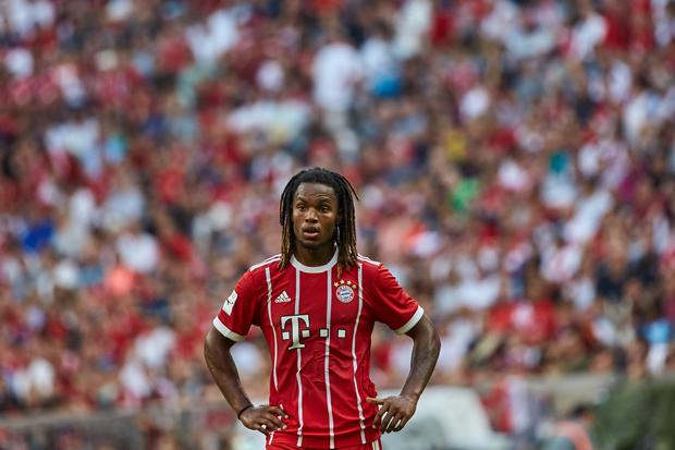 Renato Sanches of Bayern Muenchen looks on during the Audi Cup 2017 match between SSC Napoli and FC Bayern Muenchen at Allianz Arena on August 2, 2017 in Munich, Germany. (Photo by TF-Images/TF-Images via Getty Images)