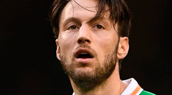 Harry Arter. Photo: Ramsey Cardy/Sportsfile