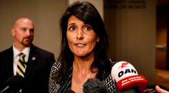 U.S. Ambassador to the United Nations Nikki Haley. Photo: REUTERS/Brendan McDermid