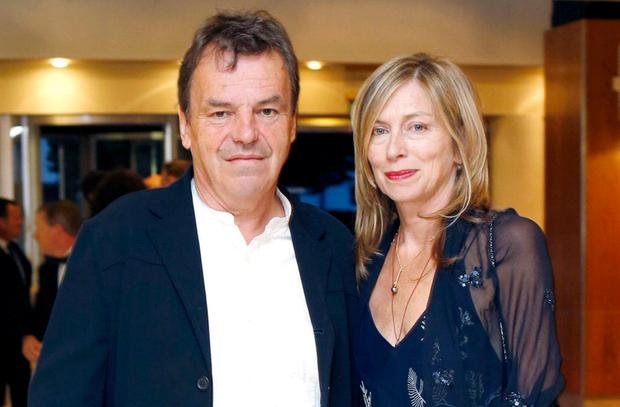 Neil Jordan and his wife Brenda. Photo: Marc O'Sullivan