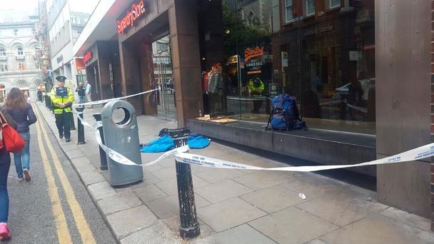 Man found dead sleeping rough near Grafton Street this morning