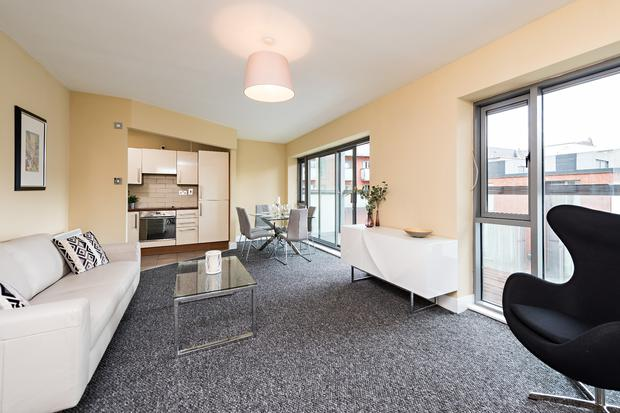 Current rents for the Smithfield Lofts units are considered to be well below the market average for Dublin city centre
