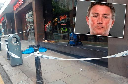 'Jack' Watson was was discovered dead on Suffolk Street this morning