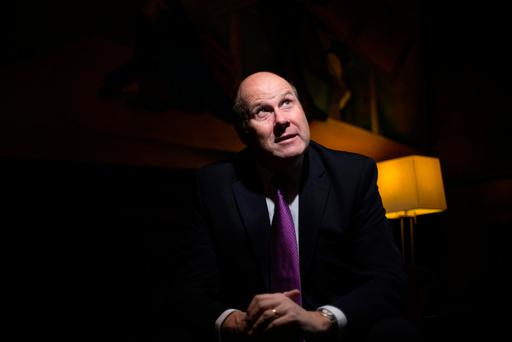 Broadcaster Ivan Yates. Photo: Mark Condren