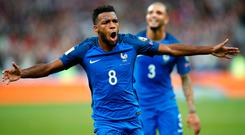Thomas Lemar was the subject of a £92m transfer deadline day offer from Arsenal. Photo: AP