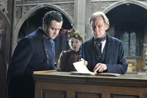 Murder mystery: Bill Nighy stars in The Limehouse Golem