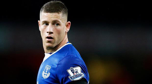 Ross Barkley turned his back on a £35m switch to Chelsea. Photo: GETTY