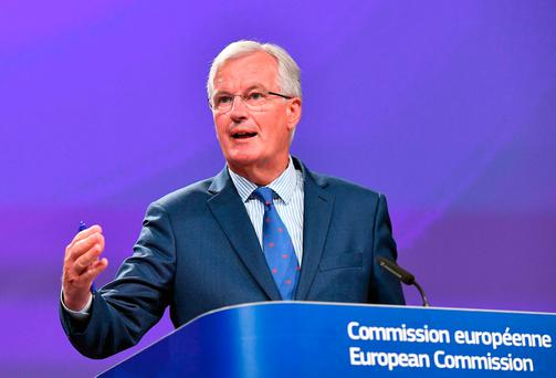 EU chief Brexit negotiator Michel Barnier. Photo: AFP/Getty Images