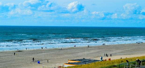 The man drowned in the water in Egmond An Zee