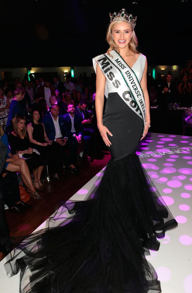 Miss Cork Cailin Aine Ni Toibin who was crowned Miss Universe Ireland 2017. Picture: Brian McEvoy