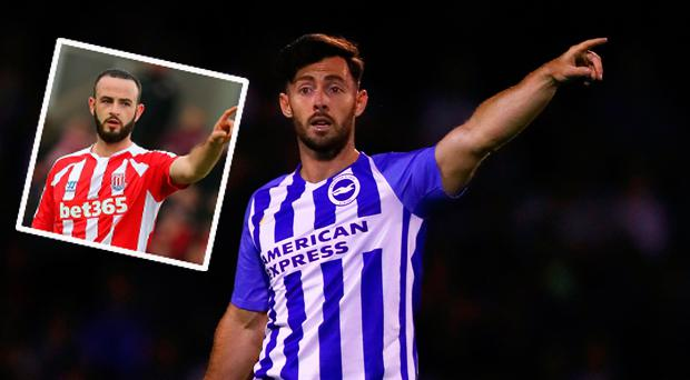 Richie Towell and (inset) Marc Wilson