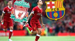 Philippe Coutinho wanted to leave Liverpool for Barcelona