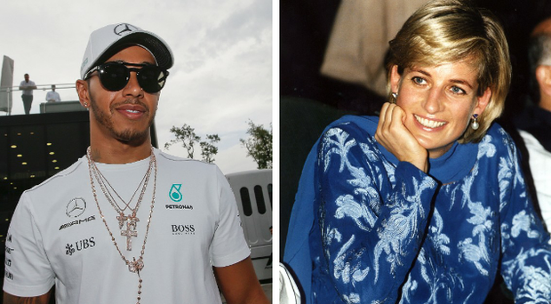 Lewis Hamilton was clearly moved by the life and death of Princess Diana