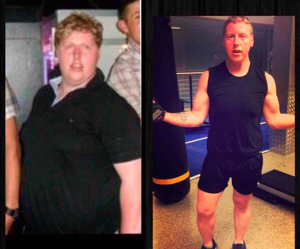 Before and After: Paul Gerard Moore