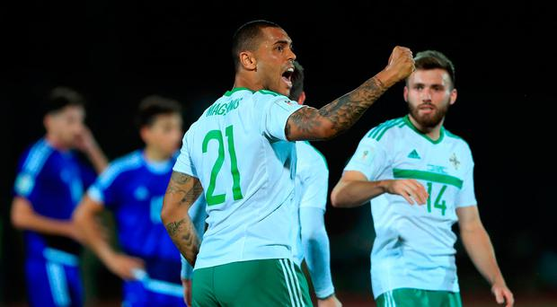 Northern Ireland on the cusp of securing World Cup playoff place after San Marino victory