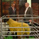 Ryan Tubridy and Seamus Brown and lamb Heart of Gold. Picture: Late Late Show