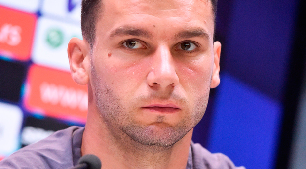 'former Chelsea full-back Ivanovic realises their visit to Dublin could influence whether they hold on to top spot and the one automatic finals ticket' Photo: Sportsfile