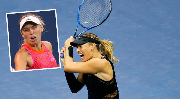 Maria Sharapova and Caroline Wozniacki re-ignite war of words