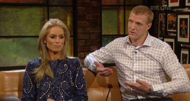 Henry Shefflin and Deirdre Shefflin opened up about the lawn mower accident involving their son Henry Jr (7).