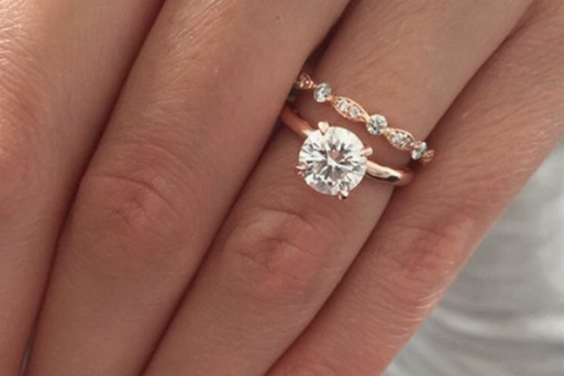 The couple can now marry with their original engagement ring after it was returned from Manchester