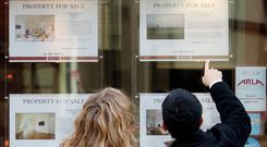 This year the final number of housing market transactions will probably finish off at around 55,000 sales, up around 10pc on last year. Stock photo: Reuters
