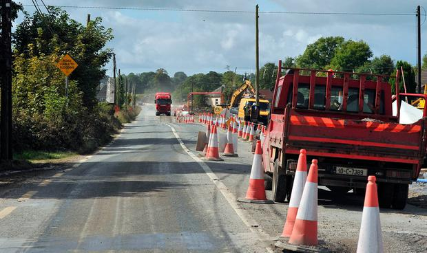 PLANS: The former Ballyglunin railway bridge which was removed in July to facilitate an access road to the new M17 motorway. Photo: Ray Ryan