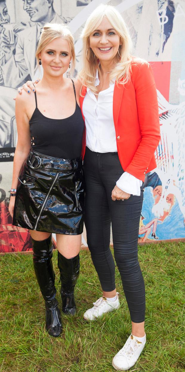 Pictured are Lizzie Jones and Miriam O'Callaghan enjoying Stradbally's ultimate party at CASA BACARDÍ 2017. BACARDÍ® rum returned to a sold out Electric Picnic, boastinga stellar line-up of international DJ's as well as top home grown Irish talent.