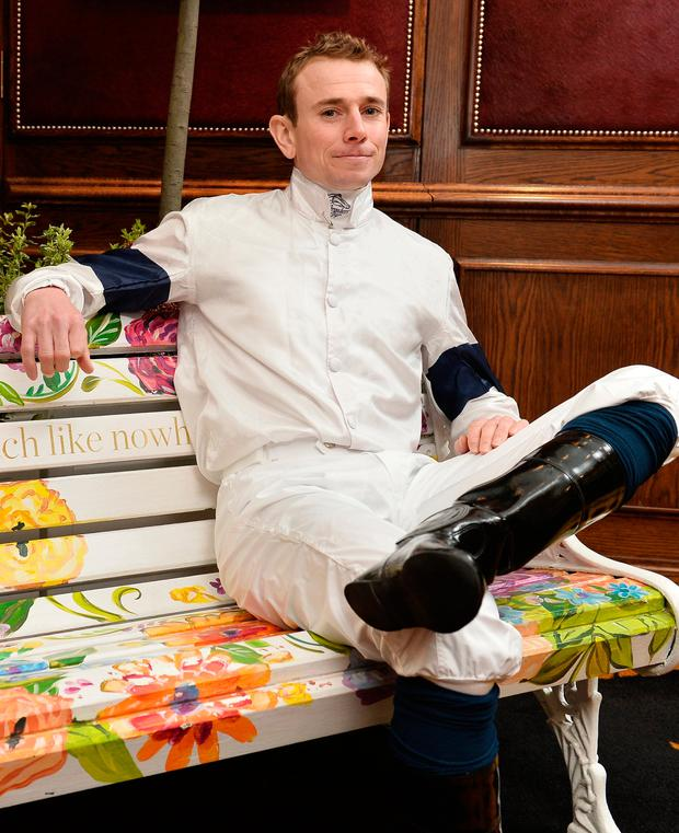 Ryan Moore is looking forward to a successful Irish Champions Weekend. Photo by Jeff Spicer/Getty Images for Ascot