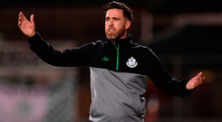 Shamrock Rovers manager Stephen Bradley. Photo by Stephen McCarthy/Sportsfile