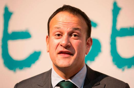 Last week, Fianna Fáil leader Micheál Martin accused Taoiseach Leo Varadkar of 'turning the civil service into a PR machine for Fine Gael'. Photo: Gareth Chaney Collins