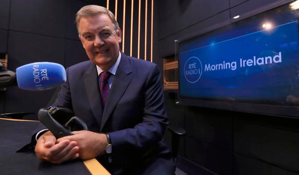RTÉ News' Bryan Dobson confirmed as new Morning Ireland presenter on RTÉ Radio 1. Pic: Donall Farmer