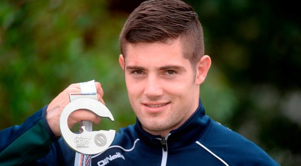 Joe Ward delivered a silver medal for Ireland at the World Boxing Championship in Hamburg. Photo: Barry Cregg/Sportsfile