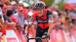 'In this final week, I'll have to chase a stage win but with a long time trial tomorrow and a sprint stage on Sunday, I don't have too many options' - Nicolas Roche