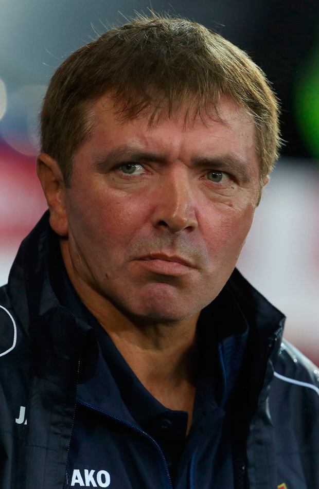 Moldova's coach Igor Dobrovolski. Photo: Getty Images