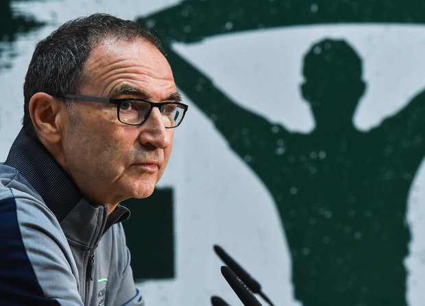 Manager of Republic of Ireland Martin O'Neill during a press conference at FAI NTC in Abbotstown, Dublin. Photo by David Maher/Sportsfile