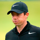McIlroy has slipped to sixth place, for the first time since 2014. Photo: PA