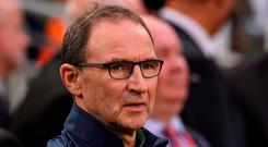 Republic of Ireland manager Martin O'Neill. Photo: Matt Browne/Sportsfile