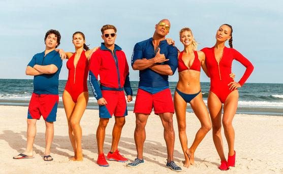 Baywatch flopped at the box office this summer