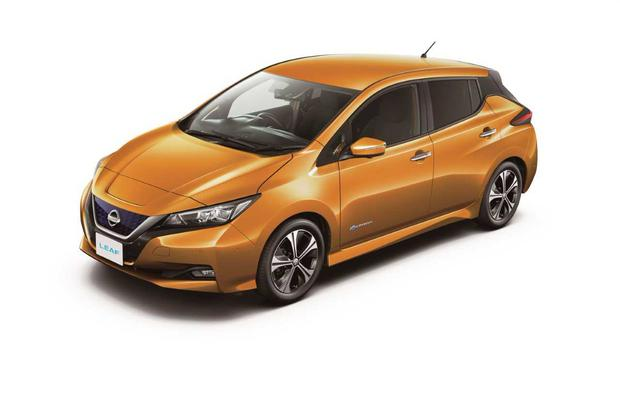 Nissan today unveiled their brand new electric Leaf.