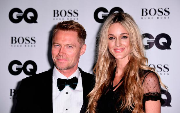 Ronan Keating and Storm Keating attend the GQ Men Of The Year Awards at the Tate Modern on September 5, 2017 in London, England. (Photo by Gareth Cattermole/Getty Images)