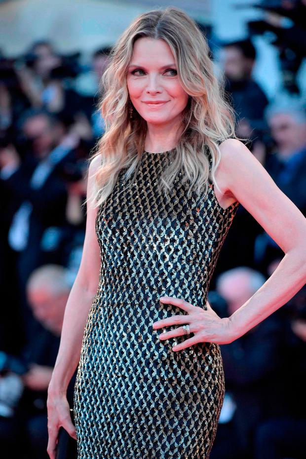 US actress Michelle Pfeiffer attends the premiere of the movie