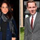 Meghan Markle, left, and Ryan Tubridy, right