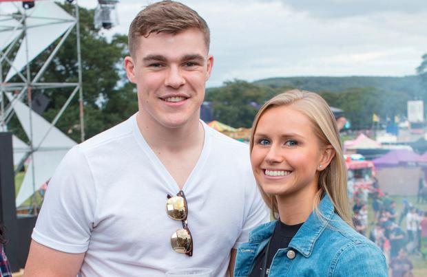 Gary Ringrose & Ellen Beirne at the Heineken 'Live Your Music' space at Electric Picnic. Picture: Anthony Woods