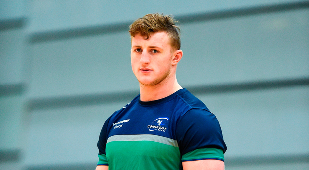 Connacht's Peter Robb. Photo: Diarmuid Greene/Sportsfile