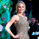 Jennifer Lawrence attends the UK Premiere of