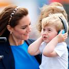 Catherine, Duchess of Cambridge and Prince George of Cambridge visit the Royal International Air Tattoo at RAF Fairford on July 8, 2016 in Fairford, England. (Photo by Max Mumby/Indigo/Getty Images)