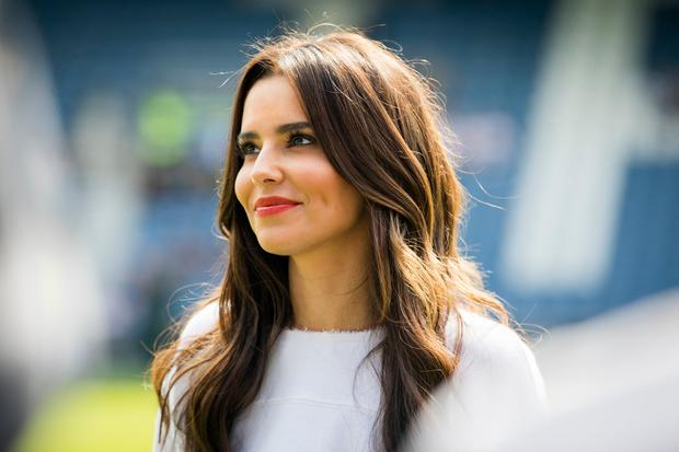 Cheryl Cole attends the #GAME4GRENFELL at Loftus Road on September 2, 2017 in London, England. The charity football match has been set up to benefit those who were affected in the Grenfell Tower disaster. (Photo by Tristan Fewings/Getty Images)