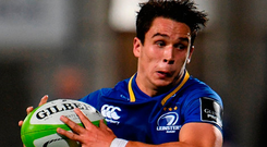 Talents like Joey Carbery make you excited for the future of Irish rugby. Photo: Sportsfile