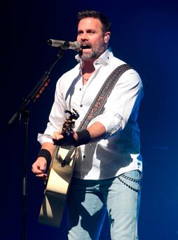 Troy Gentry of the Country Music duo Montgomery Gentry (Photo by Owen Sweeney/Invision/AP, File)