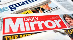 The publisher of the Daily Mirror newspaper is in talks to acquire 100% of Daily Express group Northern & Shell. Photo: PA